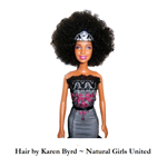 Afro doll inspired by Kennetra Searcy